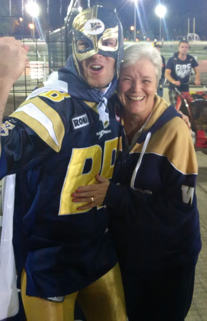 This is probably the first I've ever wanted to be nice to the Bombers' Coach's mom.