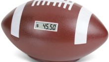football piggy bank