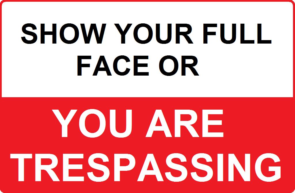 face trespassing