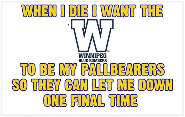 blue bombers let down